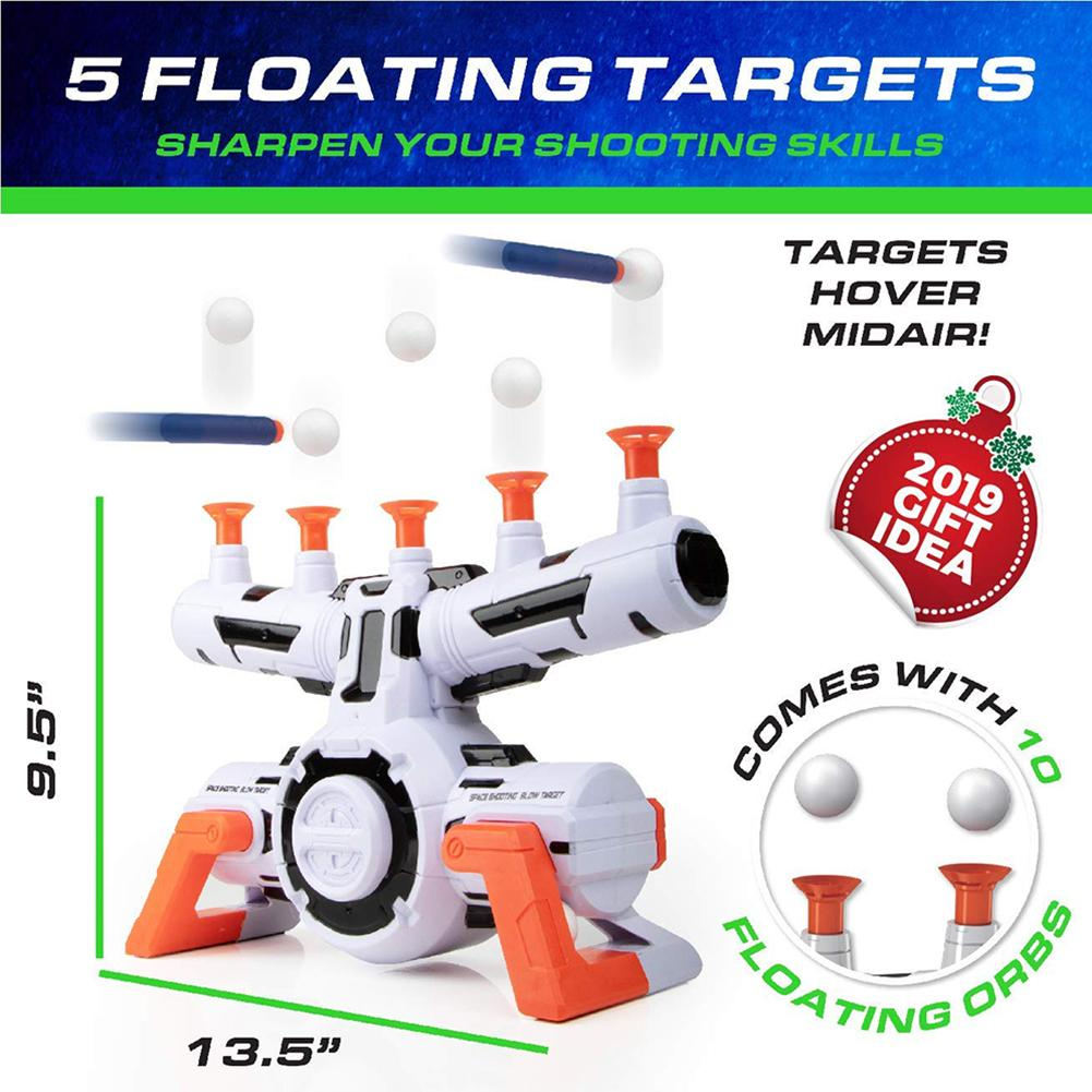 Children's Toy Shooting Game Toys Floating Target Set Electric Floating Ball Game Target Weapon Toys Glow In The Dark Floating