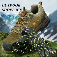 1Pair Round ShoeLaces Outdoor Hiking Sports Shoe laces Kids Adult Sneakers Shoelaces Solid lacets baskets 19 Colors