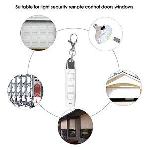 Image 3 - Kebidu 433MHz bezprzewodowy pilot klonowanie powielacz z breloczkiem 4 przyciski elektryczny kontroler kopiowania do drzwi garażowych