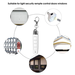 Image 3 - kebidu 433MHz Wireless Remote Control Cloning Duplicator With Key Chain 4 Buttons Electric Copy Controller For Garage Door