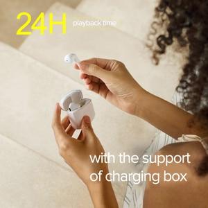 Image 4 - Edifier TWS200 Tws Oordopjes Qualcomm Aptx Draadloze Koptelefoon Bluetooth 5.0 Cvc Dual Mic Ruisonderdrukking Tot 24H Afspelen tijd