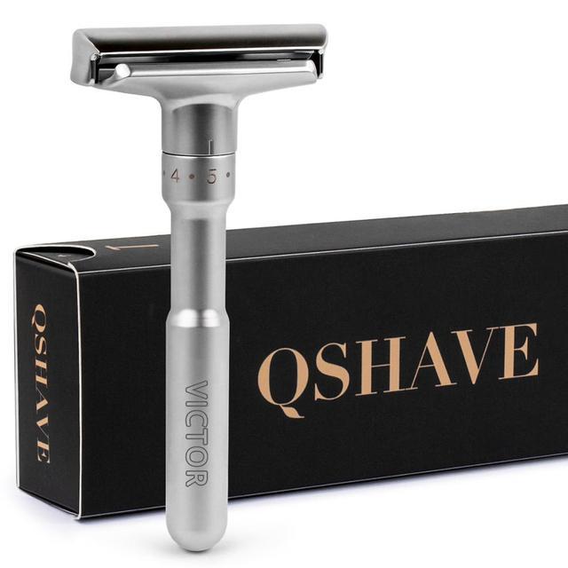 Безопасная бритва QSHAVE RD7281 с лезвиями