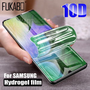 10D Screen Protector For Samsung Galaxy A51 S20 Ultra S10E S10 Note 10 Plus Hydrogel Film For Samsung S9 S8 Plus Film Not Glass(China)