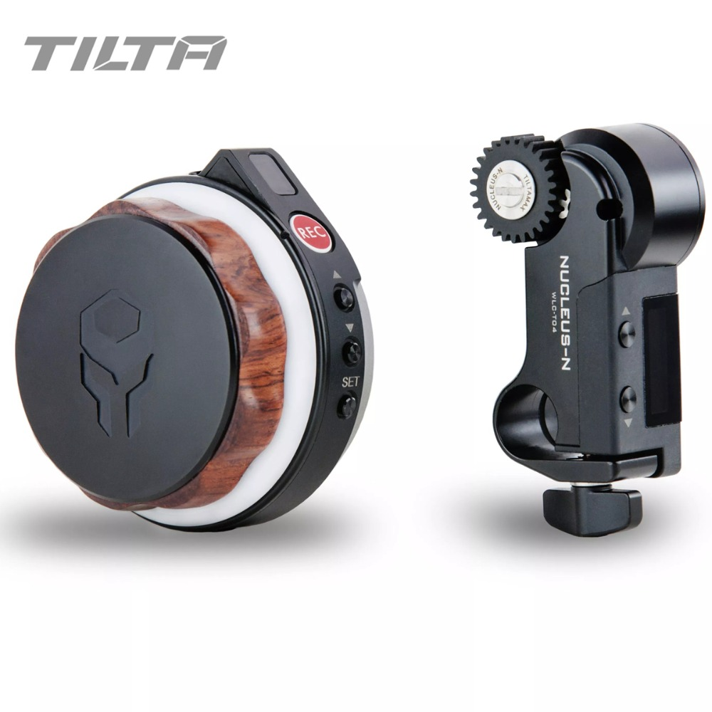 Instock <font><b>Tilta</b></font> Nucleus-Nano Wireless Follow Focus Motor Hand Wheel Controller Lens Control System for handheld <font><b>gimbal</b></font> systems G2X image