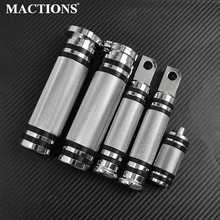 Motorcycle CNC 1''25mm Hand Grips Footpegs Pedal Shifter Nail Pegs For Harley Sportster Touring Road Glide Softail Dyna FXDI