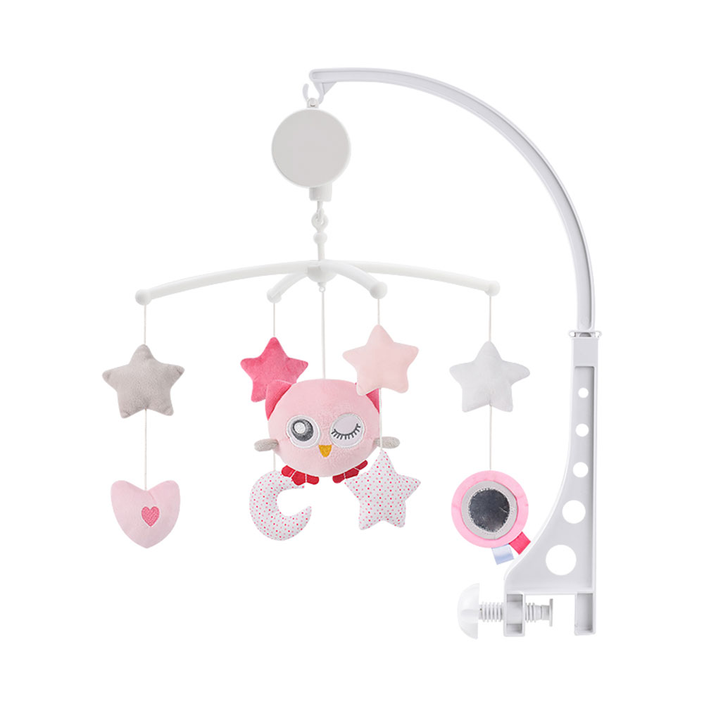 Baby Crib Mobiles Rattles Bed Bell Cartoon Music Educational Toys Carousel For Cots Infant Comfort Toys 0-18 Months For Newborns