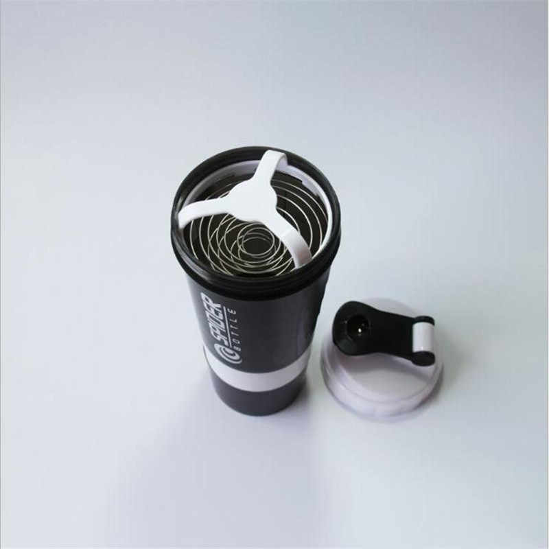 500ml Shaker Proteína Misturador Liquidificador Copo Sports Workout Fitness Gym Treinamento Multifuncional Bpa Shaker Recipiente Garrafa De Água