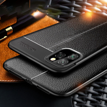 Keajor Case For iPhone 11 Pro 2019 Soft TPU Leather Bumper Cover Luxury Protector Max
