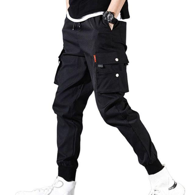 Pantalones de Golf finos para hombre, chándal táctico de trabajo de carga, ropa de verano para Primavera, poliéster, longitud hasta el tobillo, 2021 3