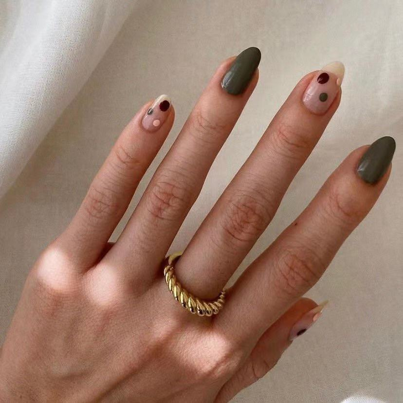 Classic Wedding Ring for Women Gold Color Twist Rope Rings Set Female Chunky Thick Geometric Circle Minimalist Ring 2021 New