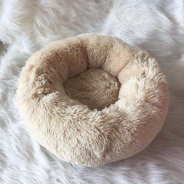 Fluffy Pluche Donut hondenbed 1