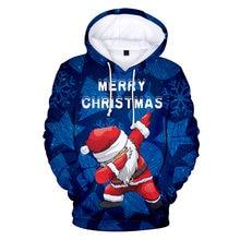 Счастливого Рождества 3d толстовки Пижама для детей и взрослых