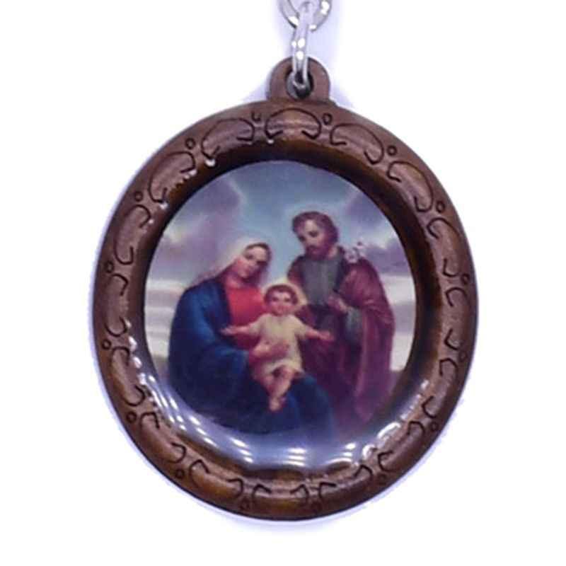 Vintage Salib Christian Jesus Kristus Ikon Gantungan Kunci Agama Gantungan Kunci Perhiasan L69B