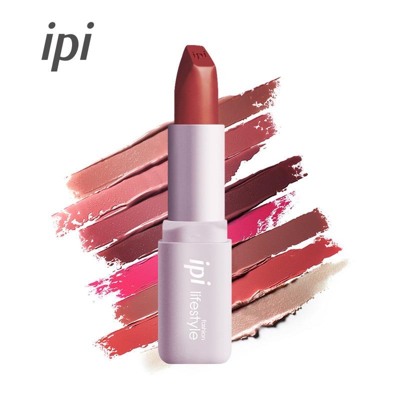 ipi umidade matte cor batom cosmeticos labios maquiagem batom de longa duracao umido rouge beleza labios
