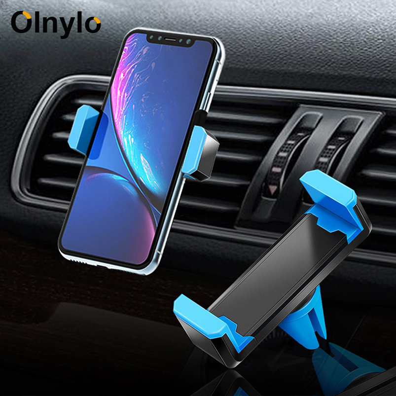 Car Phone Holder 360 Degree Stands Support Mobile Air Vent Mount Car Holder For Xiaomi Mi Note 10 Pro IPhone Phone Stand In Car
