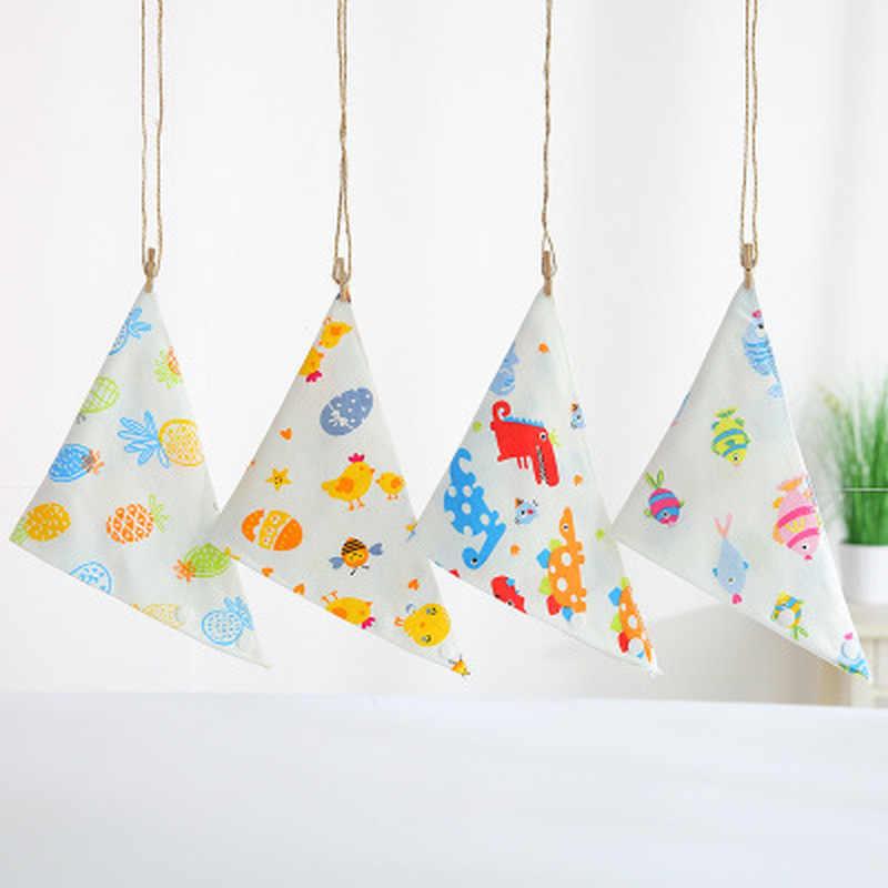 아기 Bibs 귀여운 만화 패턴 bib bandana bibs burp cloths 타액 타월 코튼 유아 Burp Cloths 점심 먹이 액세서리