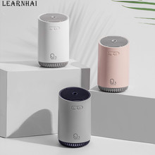 LEARNHAI 2019 New Arrival Q3 Cool Mist Ultrasonic Humidifier Aroma Diffuser USB Portable Car Air With Night Light