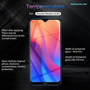 Image 2 - For Xiaomi Redmi 8 Glass Screen Protector Nillkin H/H+Pro Clear Safety Protective Glass For Xiaomi Redmi 8A Tempered Glass