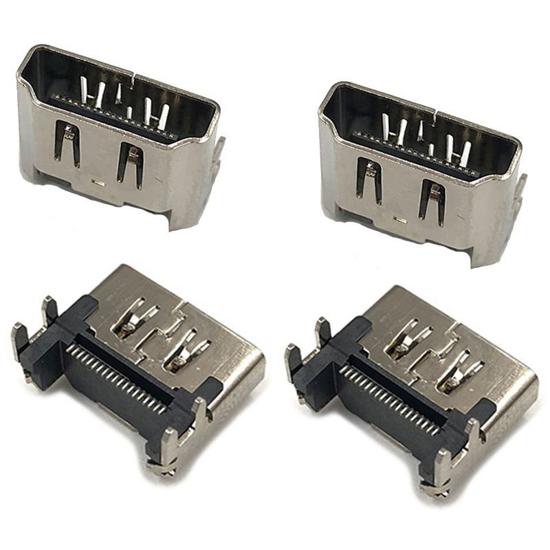 10Pcs HDMI Port Socket Connector New Replacement Part For Playstation 4 PS4 5
