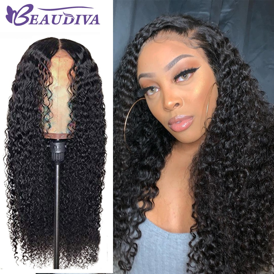 360 Brazilian Deep Wave Lace Wigs Bleached Knot Beaudiva Pre-Plucked Lace Frontal Human Hair Wigs With Baby Hair Deep Wave Wigs