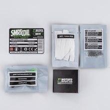 Wotofo – Kit de bobines SMRT PnP, en coton maillé, avec nexM Extreme/ Turbo/cooling, Kit de bobines reconstructibles, pièces pour cigarettes électroniques