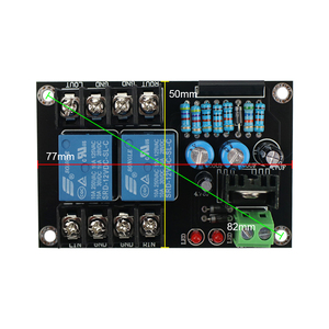 Image 5 - GHXAMP UPC1237  2.0 Speaker Protection Board Songle Dual Channel 300W*2 AC/DC 12 18V