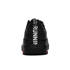 Image 5 - SUROM יוקרה מותג מקרית גברים נעלי עור תחרה עד אופנה קלאסי שחור לבן סניקרס גברים רשת לנשימה Zapatos דה Hombre