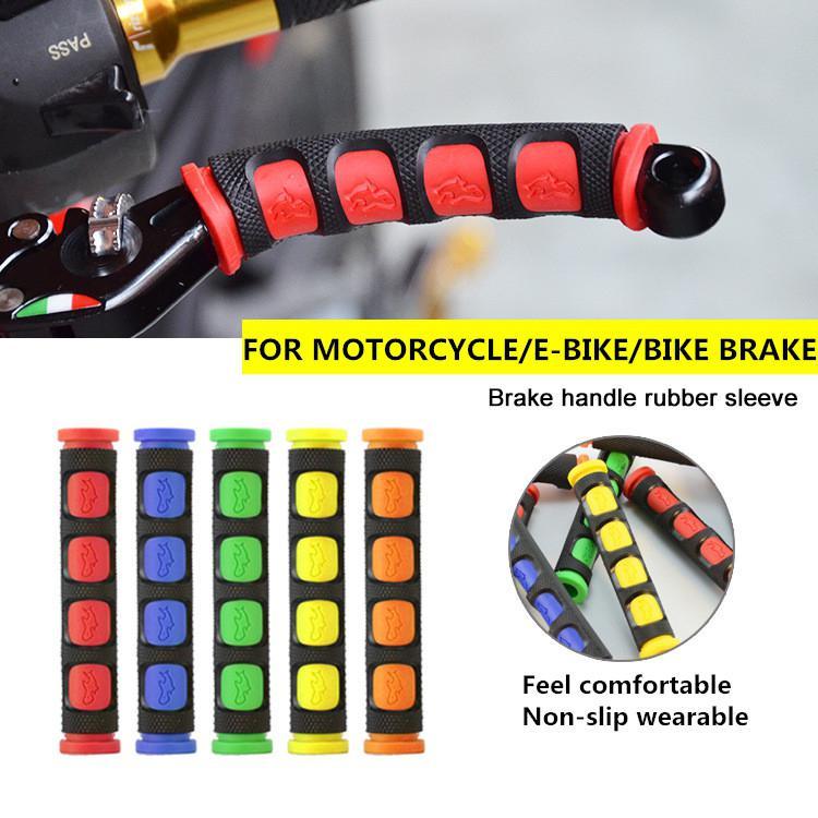Motorcycle Accessories Universal Moto E-bike Scooter Handlebar Moto Handle Brake Grip Rubber Sleeve