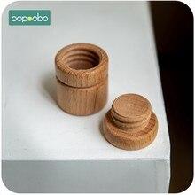 Bopoobo-caja de colección de dientes de madera para bebé, regalo de recuerdo para bebé, 10 piezas, juguetes para bebé, caja de dientes caducos, juguetes, bloques de construcción