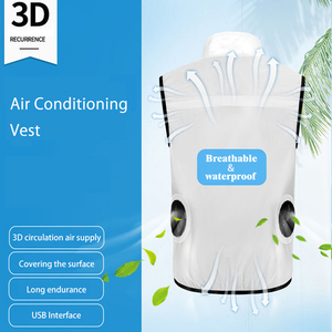 Image 5 - PARATAGO gilet dété de ventilateur pour hommes et femmes, Cool pour la climatisation, manteau de Protection solaire dextérieur chargeur USB PC102