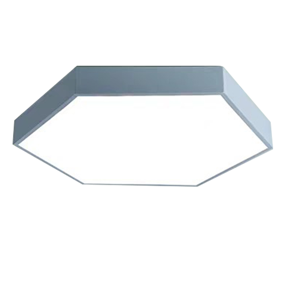 Porch Kitchen Indoor Led Decoration Ultrathin Bedroom Home Ceiling Light Iron Study Surface Mounted Hexagon European Style   - title=