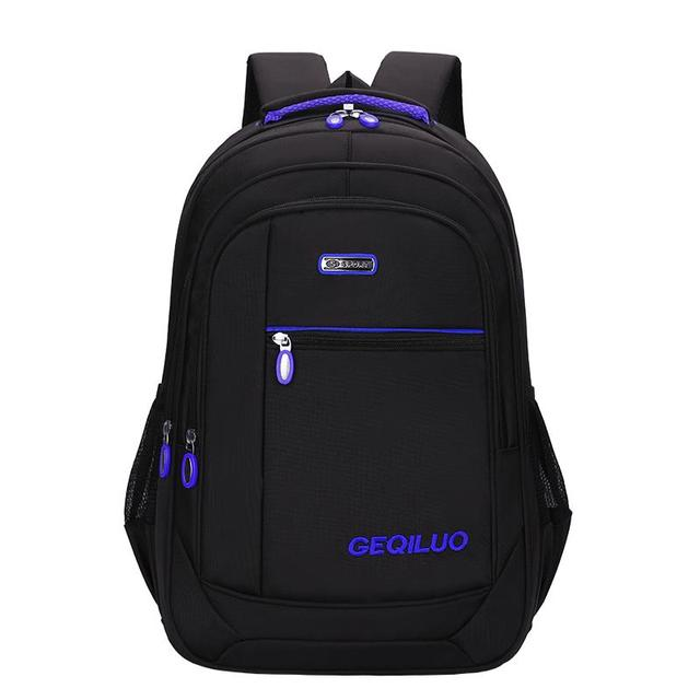 Men's backpack Unisex Waterproof Oxford 15 Inch Laptop Backpacks Casual Travel Boys Student School Bags Large Capacity Hot Sale 2