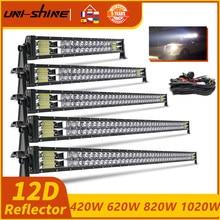 Lampe de travail combinée Led pour voiture tout terrain, 4x4, 22