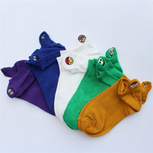 Hot sale! men socks cotton low ankle 5 pairs/pack spring summer and autumn color