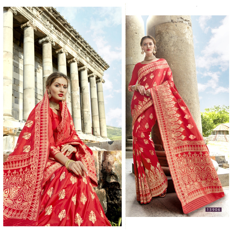 Sarees For Women In India 3-piece Suit Ally Silk Embroidery Tradition Clothes Contain Petticoat <font><b>Indian</b></font> <font><b>Dresses</b></font> <font><b>Sari</b></font> image