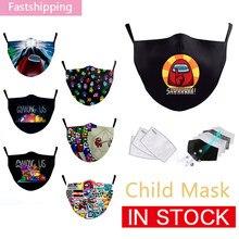 Máscara facial engraçado impresso adulto criança máscara entre os eua impressão máscaras de boca unisex lavável máscaras reutilizáveis ao ar livre à prova de vento mascarilla