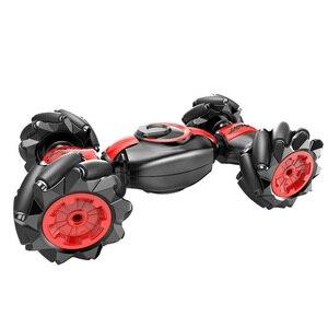 2.4GHz podwójny silnik wykrywanie gestów RC samochód przekształcający skręcanie pojazdu inteligentny ABS Drifting Mini 4 kanały dzieci prezent Stunt Toy