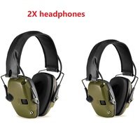 Electronic Shooting Earmuff Outdoor Sports Anti-noise Sound Amplification Tactical Hearing Protection Hunting Headset