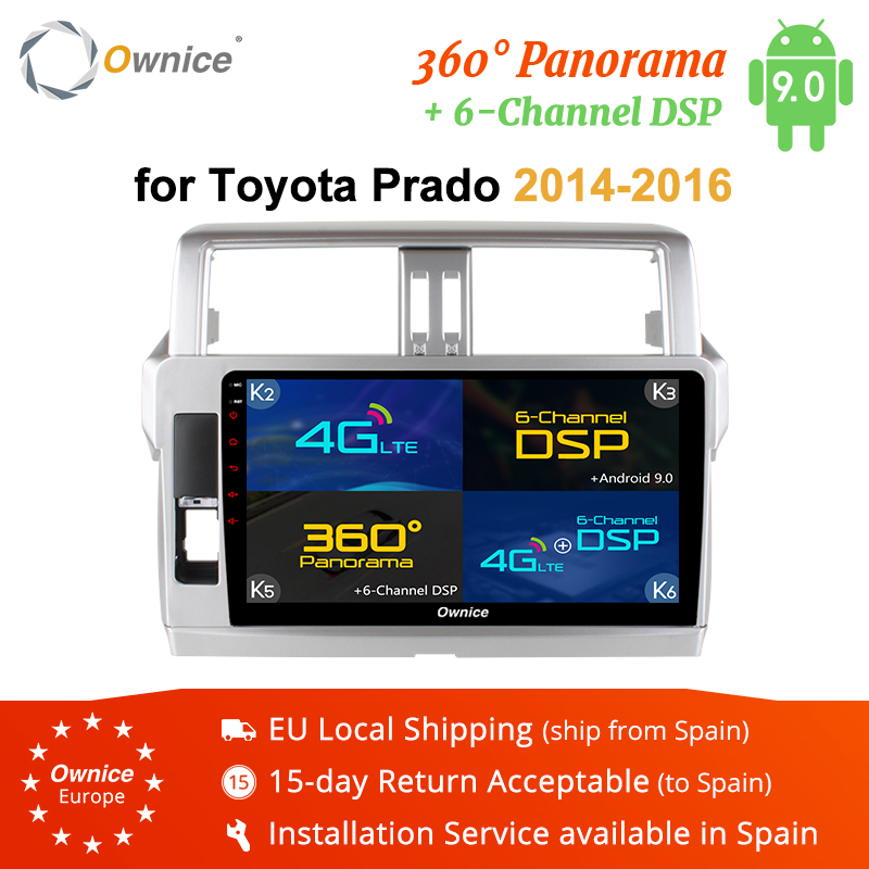 Ownice K1 K2 K3 K5 K6 2DIN 8Core 10 1 Android 9 0 Car Radio Player