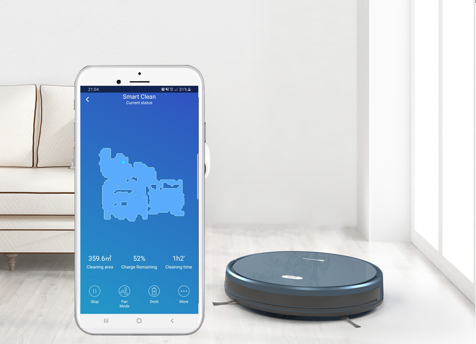 H7c3c94b238e54e25bb5e9deb01154136d NEATSVOR X500 Robot Vacuum Cleaner 1800PA Poweful Suction 3in1 pet hair home dry wet mopping cleaning robot Auto Charge vacuum