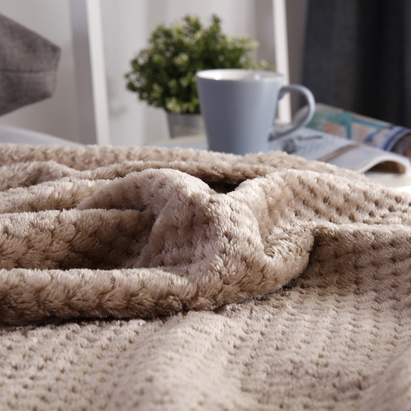 BeddingOutlet <font><b>Blanket</b></font> Solid Color Plush Gift