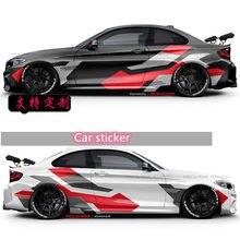 Etiqueta do carro para 1 2 3 4 5 6 7 series decoração exterior modificado corrida adesivo