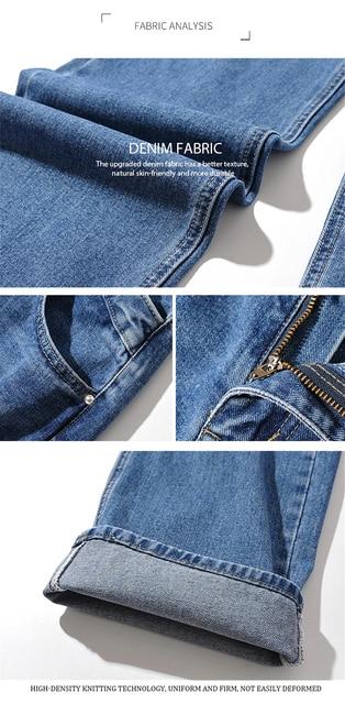 Irregular High Waist Jeans in blue