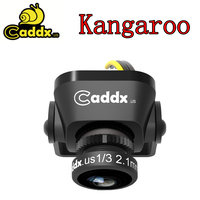 Caddx Kangaroo FPV Camera 1000TVL 2.1mm Glass Lens /2M 2.1mm Lens 16:9/4:3 Switchable WDR 4ms Low Lantency