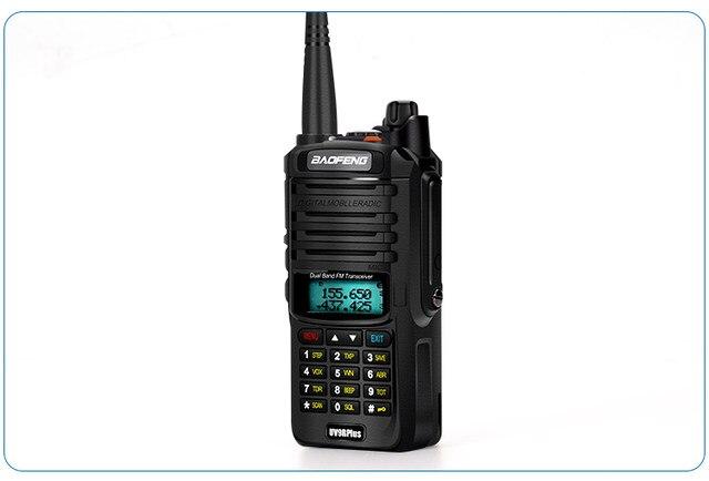 2pcs 8000mah 10W Baofeng UV-9R plus waterproof walkie talkie for CB ham radio station 10 km two way radio uhf vhf mobile plus 9r (35)