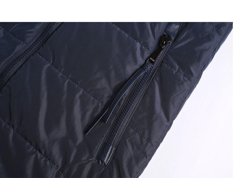 MODERN NEW SAGA 2019 Autumn Women Jacket Cotton Padded