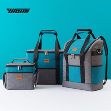 Cooler Bag for Food Storage Picnic Thermal Bags Travel Men Women Thick Lunch 900D Oxford Insulation bag Camping