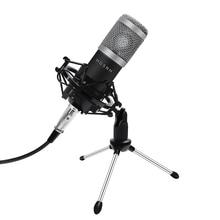 BM 800 Profesyonel Kondenser Mikrofon Seti BM800 Karaoke Mikrofon Stüdyo Kondenser Mikrofon Bm 800 Mic Radyo Baodcasting