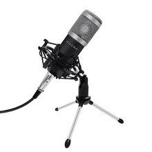 Профессиональный конденсаторный микрофон BM800, микрофон для караоке, Студийный конденсаторный микрофон Bm 800, микрофон для радиовещания