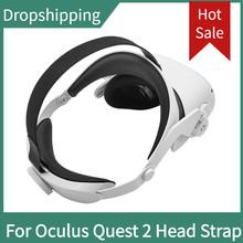 Regulowany dla Oculus Quest 2 opaska na głowę VR elite Strap zwiększ wsparcie forcesuport popraw komfort dostęp do wirtualnej rzeczywistości tanie tanio ZUIDID For Oculus Quest 2 Pojedyncze CN (pochodzenie) Wciągające Virtual Reality 180g For oculus quest 2 elite strap